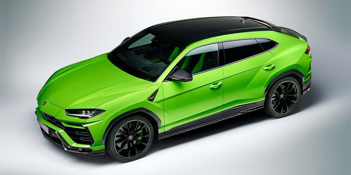 Lamborghini Urus Pearl Capsule 2021, explosión de color y personalidad