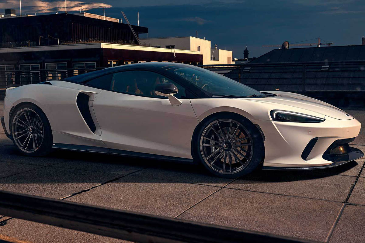 McLaren GT by Novitec, 707 hp de puro poder británico