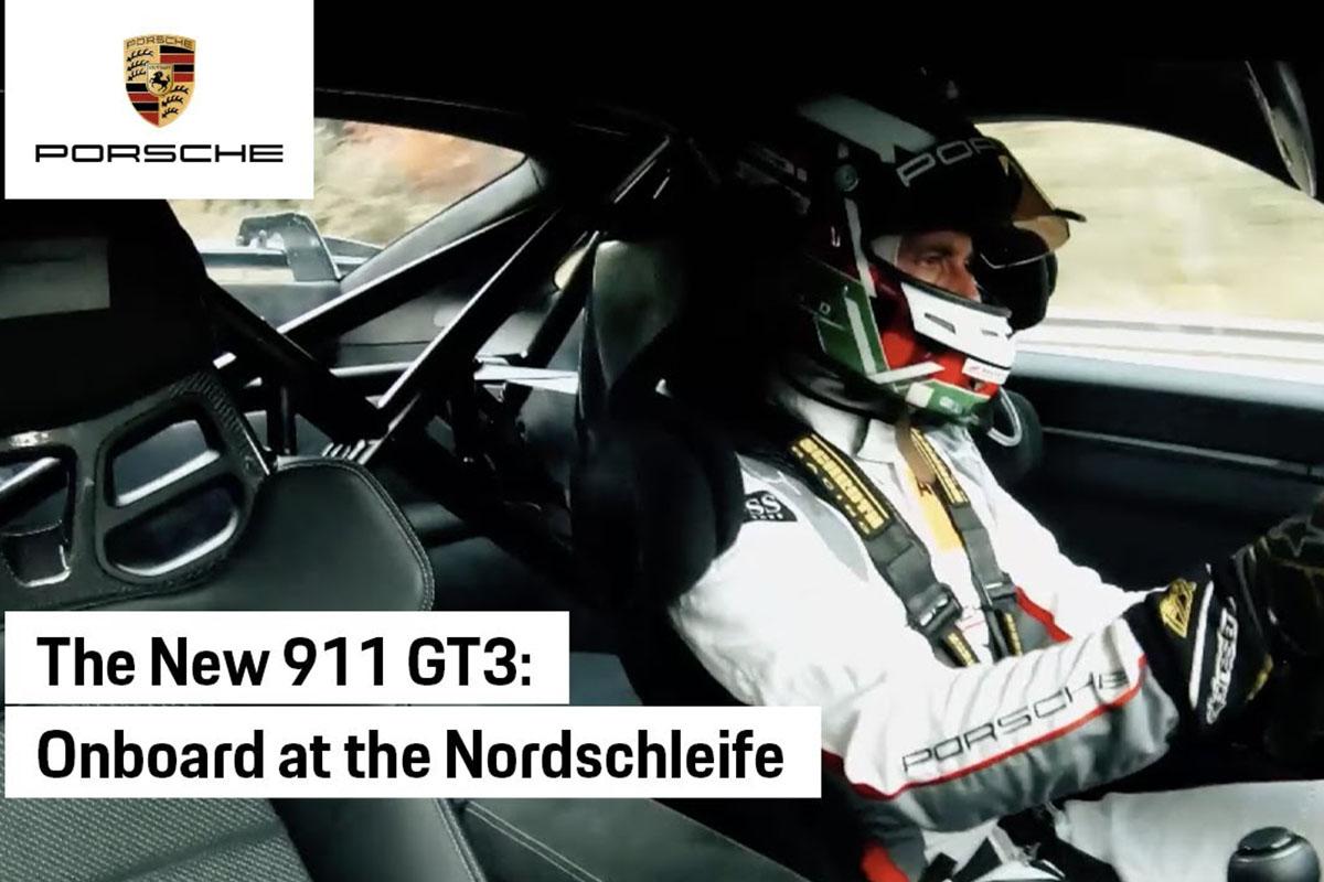 """Porsche 911 GT3 devora el """"infierno verde"""" en menos de 7 minutos"""